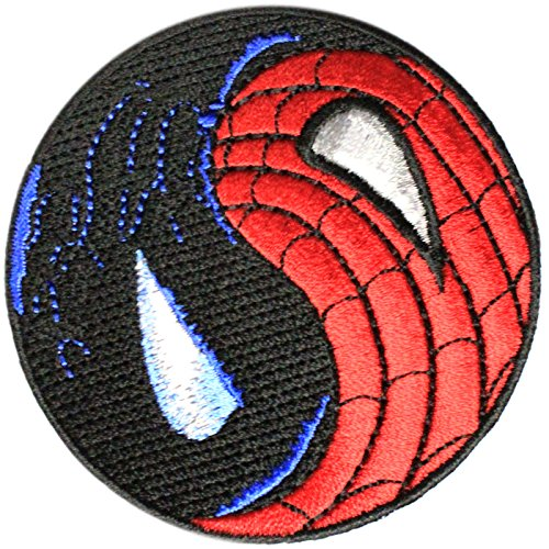 Spider-man Venom  Ying Yang Costume Patch 3 inches wide