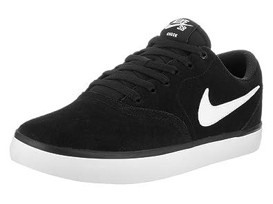 online store e14c1 afe7f Nike SB Check Solarsoft (Black White) Mens Skate Shoes-7