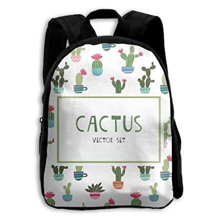 0dfe739b92 Cute Cactus Kid Backpack