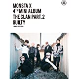 KPOP MONSTA X 4th Mini Album - The CLAN 2.5 Part.2 Guilty [Innocent version] CD + Poster + Photobook + Photocard