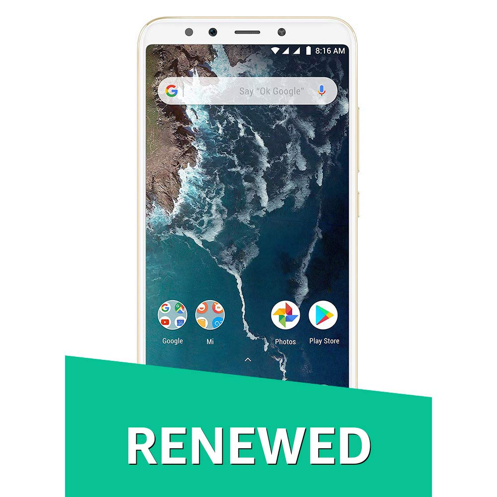 (Renewed) Mi A2 (Gold, 64GB)