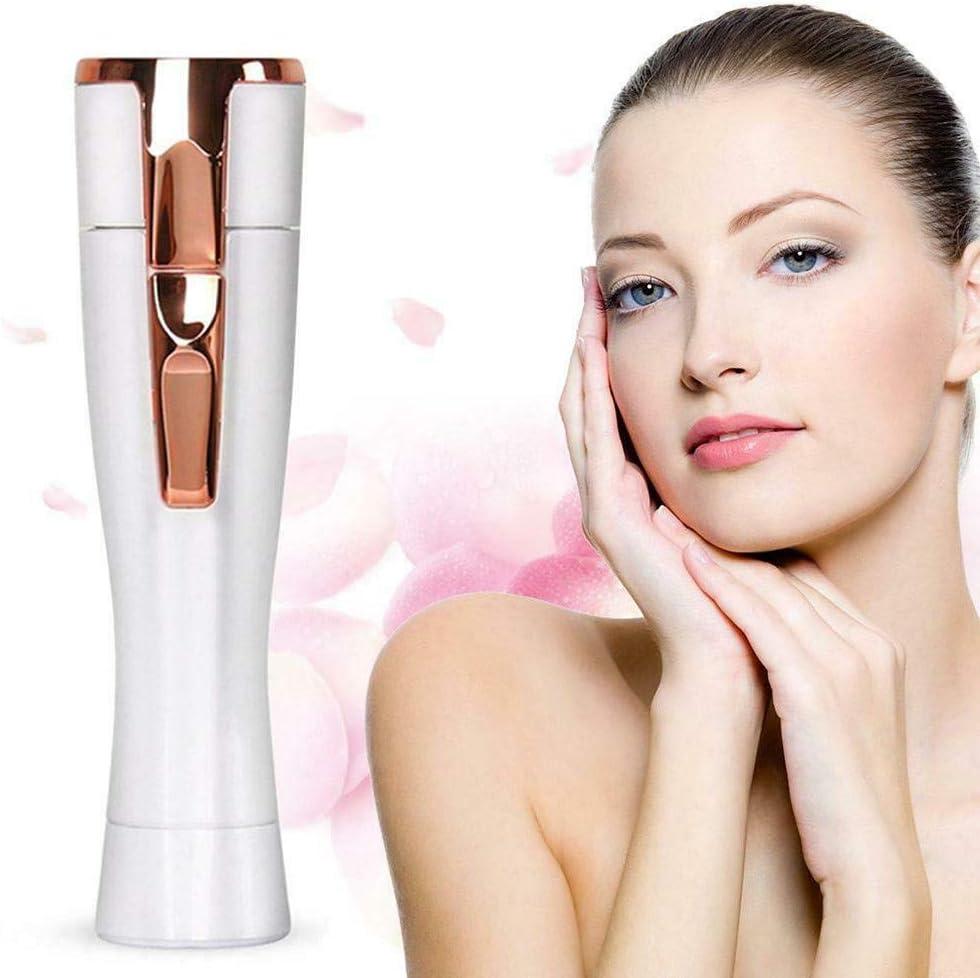 QAZXSW Depiladora de Vello Facial para Mujer, Removedor de Vello ...