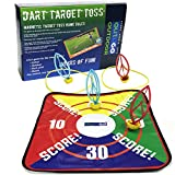 OUTUGO Lawn Darts,Target Toss Game,4 Darts-Indoor/Ourdoor. Perfect for the Beach,Camping,Tailgate,Yard,Garage,Man Cave,Hallway Etc.Portable,Anytime/Anywhere