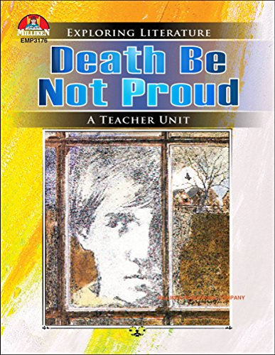 !!TOP!! Death Be Not Proud (Exploring Literature Teaching Unit). December studying Addison features market ayuda domestic