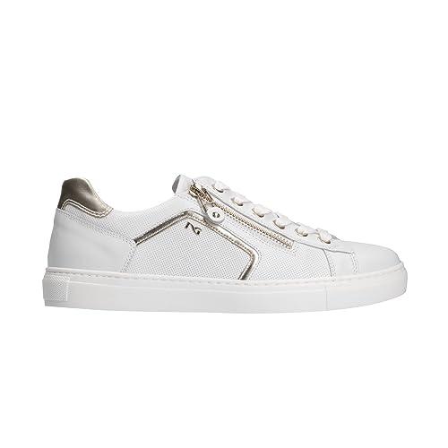 NERO GIARDINI Sneakers scarpe donna bianco 5262 mod. P805262D