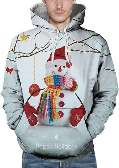 Christmas Sweatshirts 2020 Amazon.com: Men 2020 Christmas Sweatshirts Long Sleeve Autumn