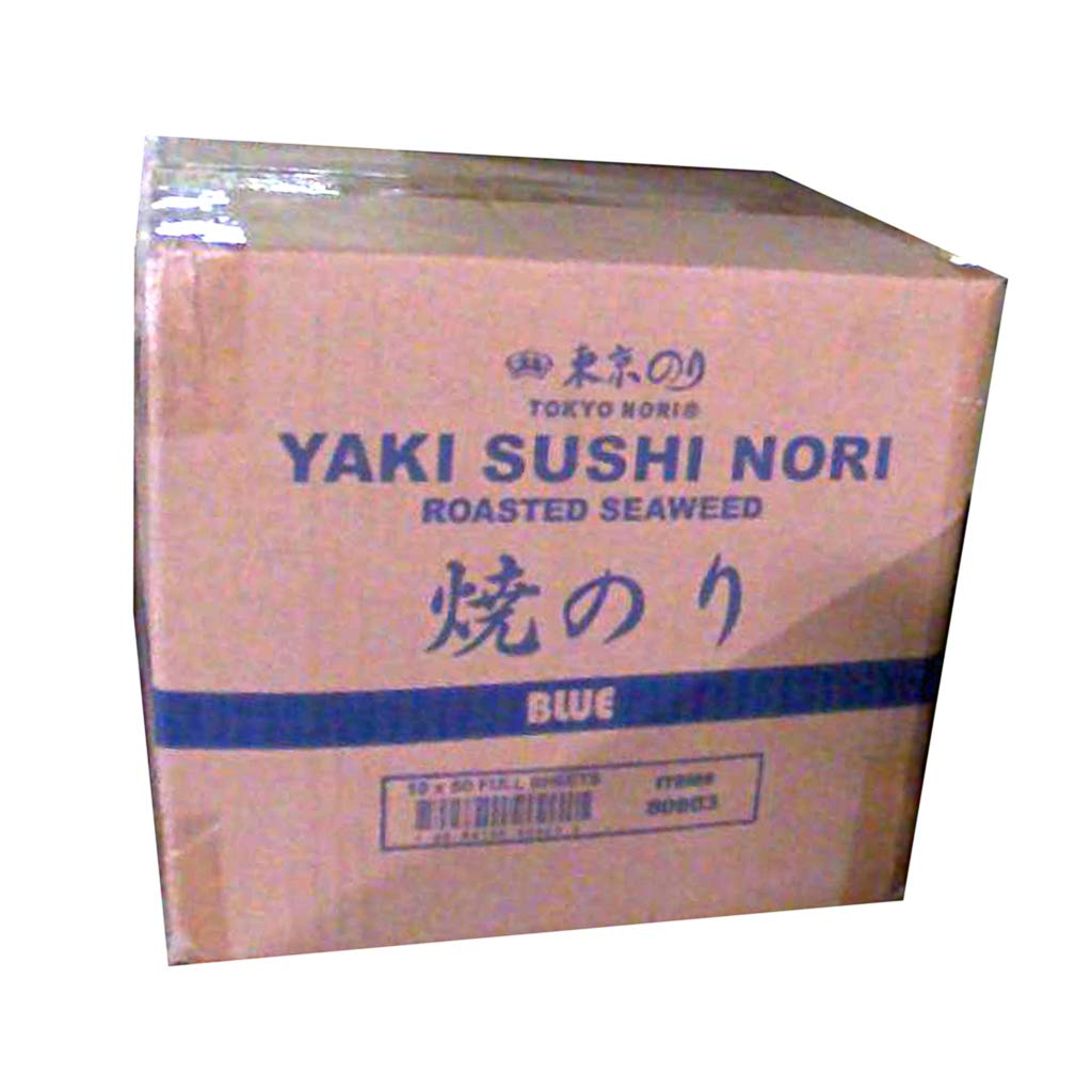 Savor Imports Roasted Seaweed Nori Sheets 50 Sheets (Pack of 10)