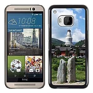 "For HTC One ( M9 ) , S-type Naturaleza"" - Arte & diseño plástico duro Fundas Cover Cubre Hard Case Cover"