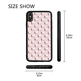 Amazon.com: The Polar Bear Walking Pink iPhone Xs Max Case ...
