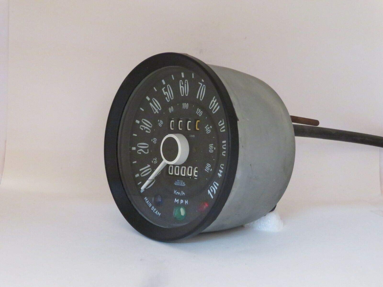 EPC Speedometer 120MPH NOS Jaeger Brand Fits Triumph Spitfire SNT6203/58 by EPC