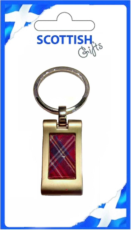 柔らかい Keyring Red Metal Red Scottish Tartan B007V6BH94 Pinch Metal Souvenir Gift B007V6BH94, KOBE FOOT CLUB:6c79f572 --- yelica.com