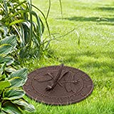 Whitehall Products Dragonfly Sundial, Oil Rub