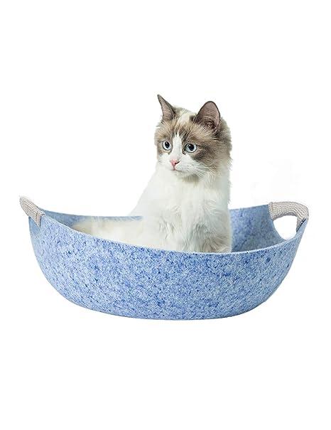 Cama de Gato   Soft Cad Bed House Casa de Gato en Forma de Barco ...