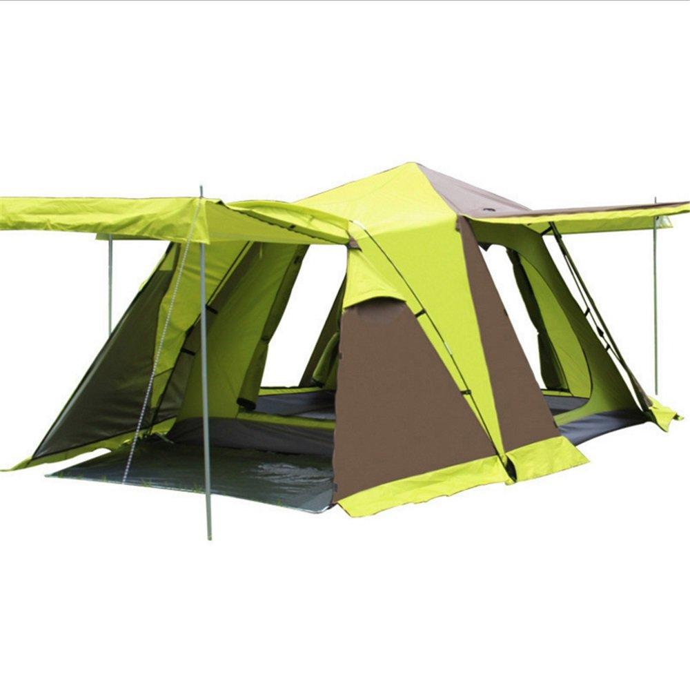 TLMY Viertürige Mit Schneeschürzen, Vier-Dach, Automatische Camping, 2 Personen, 3-4 Zelte Zelte