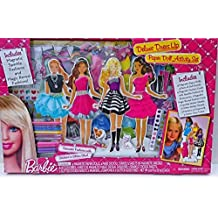 Barbie Deluxe Dress Up Paper Doll Activity Set