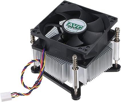 Grborn El Enfriador de la CPU ventila los Ventiladores silenciosos ...