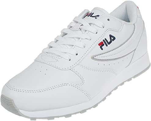 Chaussure Baskets Fila Mixte Orbit Low Blanche