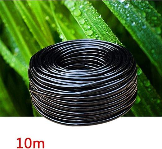 PENVEAT 5/10/15/20/25 m 4/7 mm Manguera de riego de jardín PVC Tubo de Goteo Micro Riego Durable Invernadero Sistema de riego Accesorios, 10m: Amazon.es: Jardín