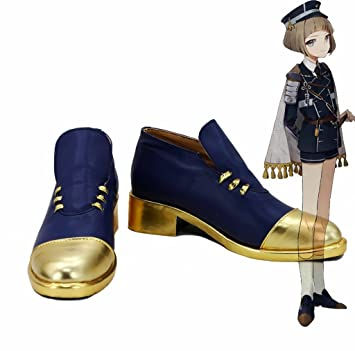 Touken Ranbu Online Game Maeda Toushirou Cosplay Shoes Boots Custom Made