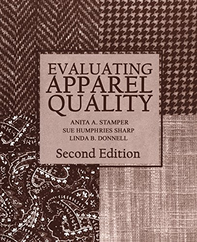 Evaluating Apparel Quality, Second Edition