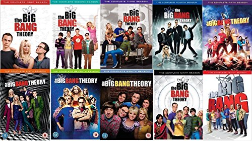 Big Bang Theory - Complete Collection, DVD (Series Seasons 1-10, 1,2,3,4,5,6,7,8,9,10) Region 1 by