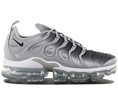 7a05da78b Nike Air Vapormax Plus Mens 924453-007 Size 8 Wolf Grey Black-White