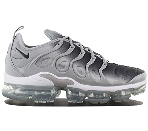 cheap for discount f8dc0 4ed09 NIKE Air Vapormax Plus 924453-007 Mens Shoes Grey Mens Trainers Sneaker  Shoes Size
