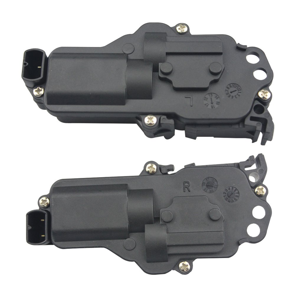 Power Door Lock Actuator Front Rear Left Right LH and RH Pair Set For Ford Truck Mustang Mercury