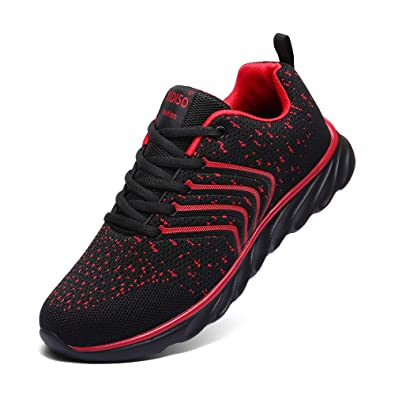 a4d69899552d5 Amazon.com | XIDISO Mens Sneakers Ultra Lightweight Breathable Mesh Street  Sport Gym Running Walking Shoes | Shoes