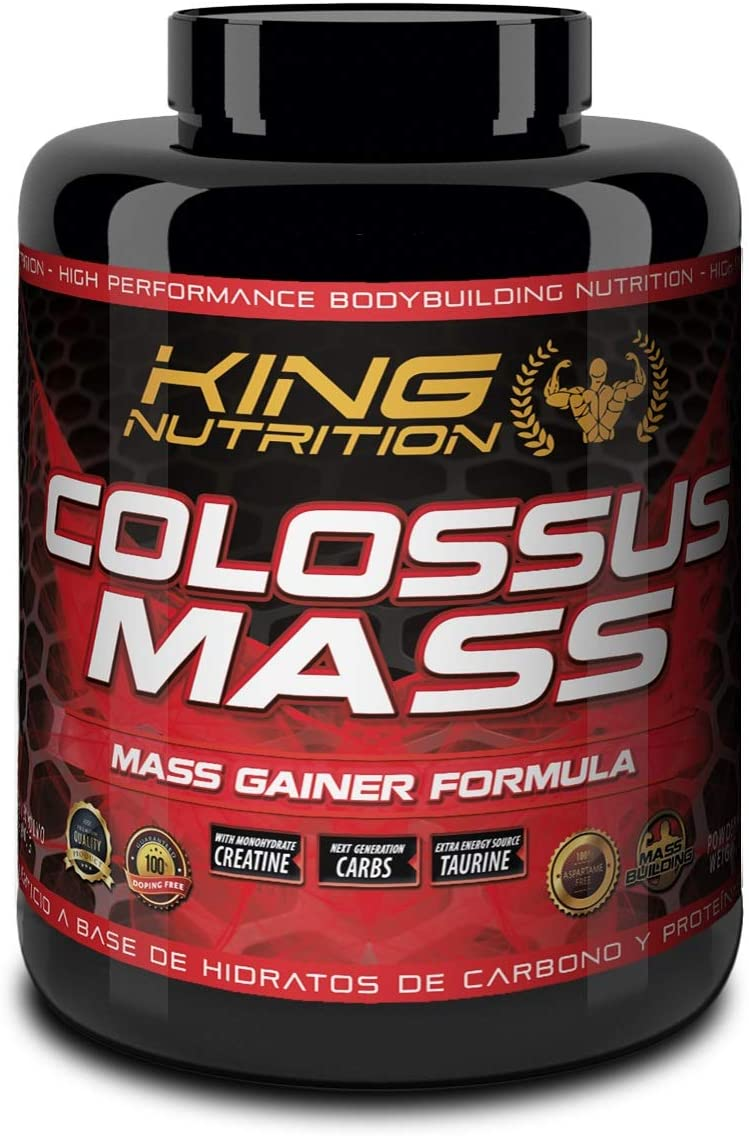 COLOSSUS MASS 3kg Chocolate King Nutrition proteina ...