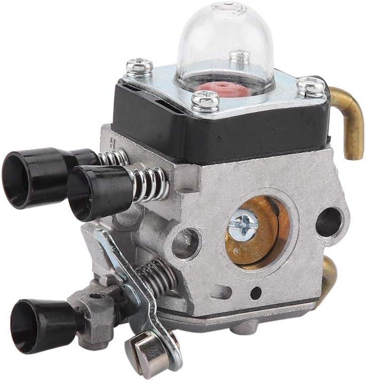 Carburador con filtro de aire, carburador y filtro de aire para Stihl FS80R FS85R KM85 HS75 FS74 FS76 HT75 C1Q-S157 accesorios para cortacésped Carburador Pequeño motor Generador Cortacésped Motor Ree