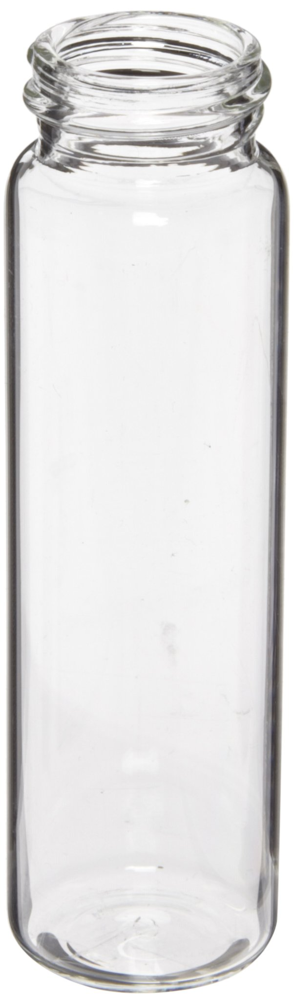 National Scientific Clear glass EPA Vial 40ml (5 Cases of 100 eaches - 500 eaches)
