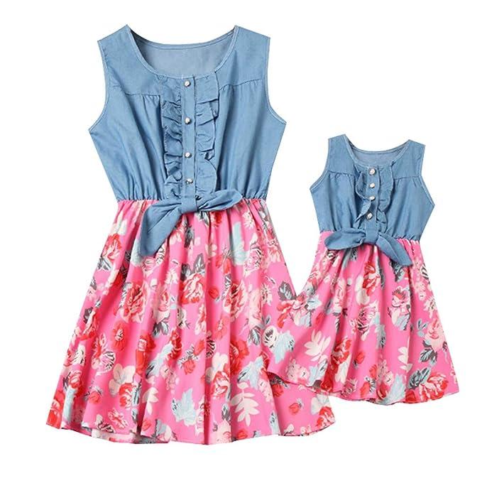 Mutter Und Tochter Kleid Allence Set Baby Kleidung