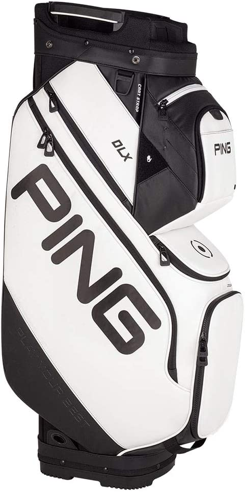 PING DLX Cart Bag 2019 (White)