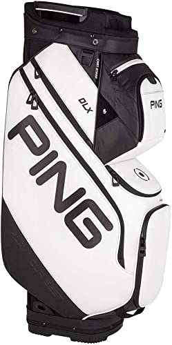 PING DLX Cart Bag 2019 White