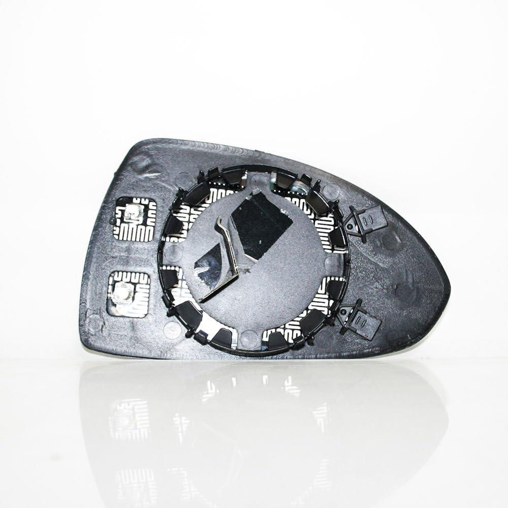 Links Weitwinkel beheizt /& Base Wing Mirror Glas Fur Corsa D 2006 Weiter
