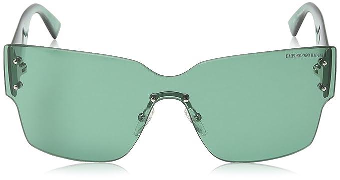 Armani Jeans- Lunette de soleil EA 9894 S Enveloppante - Light Blue   Grey  Frame   Grey Lens  Amazon.fr  Vêtements et accessoires 617c11b380e9