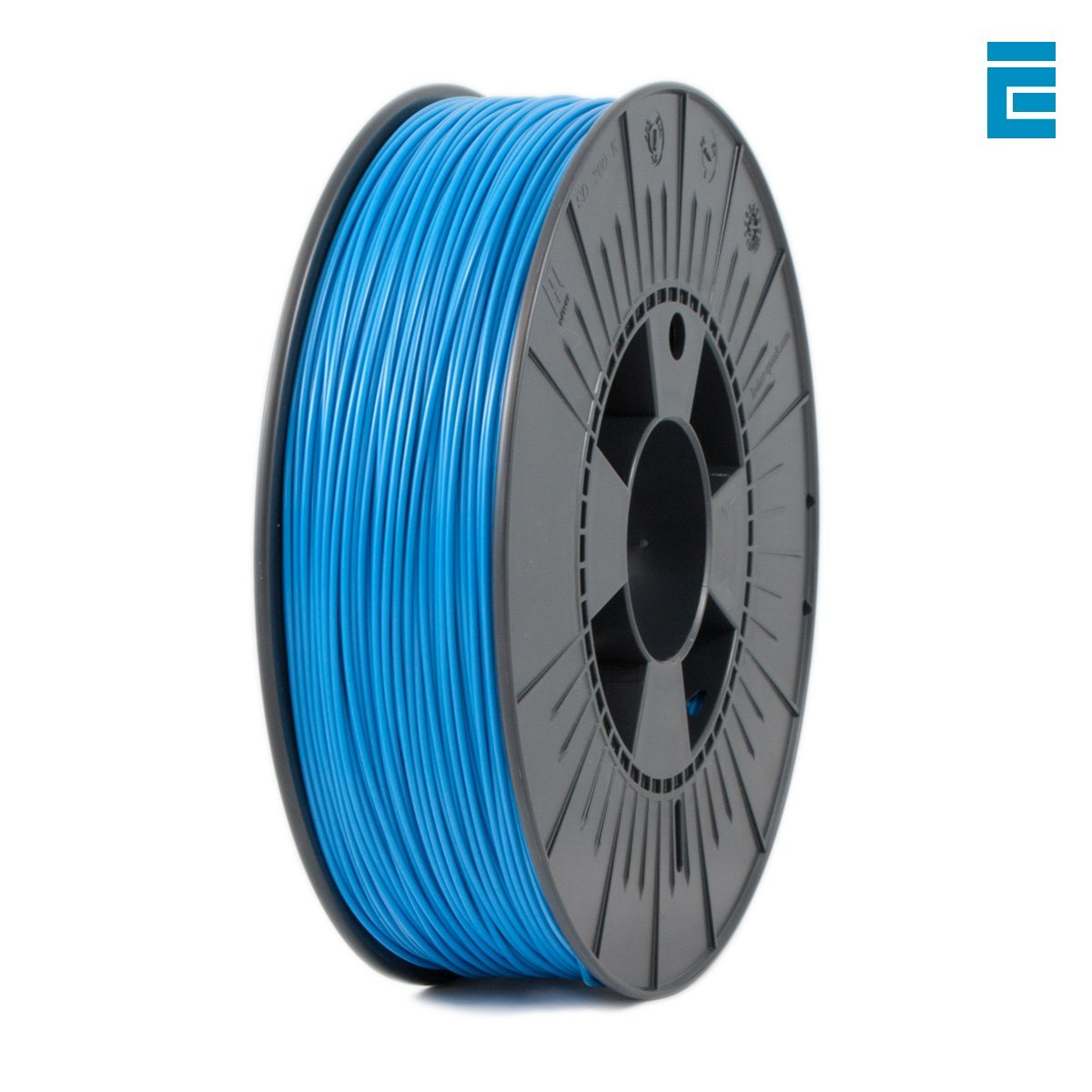 Ice Filaments ICEFIL1PLA007 Filamento PLA, 1,75 mm, 0,75 kg, Azul Dutch Filaments