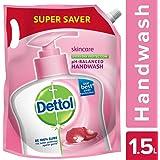 Dettol pH-Balanced Skincare Liquid Handwash Refill, 1500ml