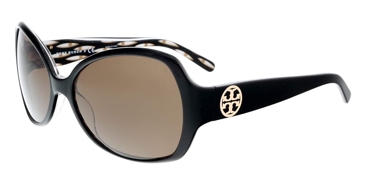 0a0202705d50 Amazon.com: Tory Burch Sunglasses - TY7019 / Frame: Tribal Brown Lens:  Brown: Clothing