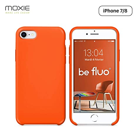 coque iphone 8 microfibre