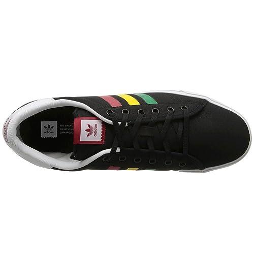 size 40 f0a51 11cc4 Zapatillas Adidas - Adicourt Stripes Negro BaseRojoVerde 43 13  Amazon.es Zapatos y complementos