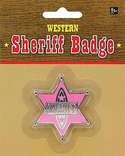 - Badge Sheriff Pink (Pack of 12)