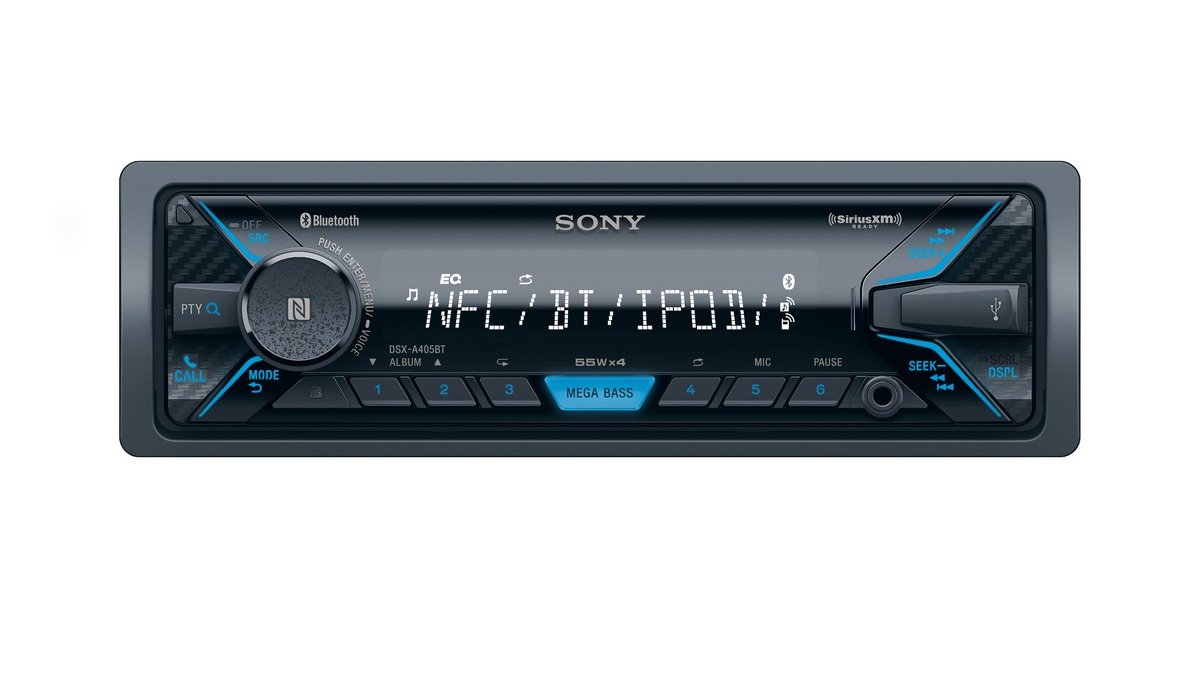Sony Dsxa405bt Digital Media Receiver With Bluetooth Wiring Free 1988 Toyota Corolla Electrical Diagram Satellite Radio Discontinued By Manufacturer Cell Phones Accessories