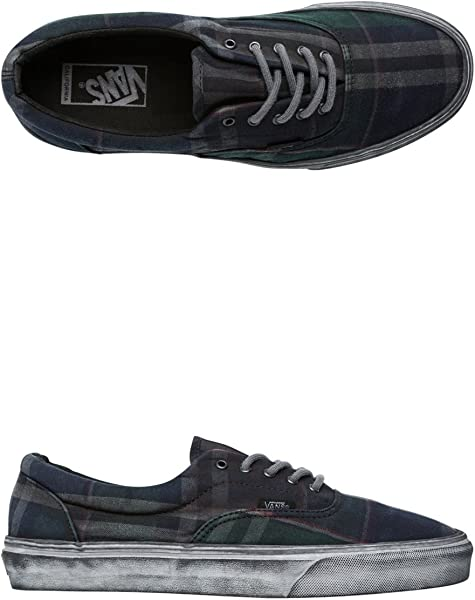 4c496484ac58 Vans Era CA Overwashed Plaid Blue Sneakers Unisex Adult Size10 Mens   Amazon.co.uk  Shoes   Bags