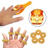 2 Pcs Finger Roller Massager and 5 Pcs