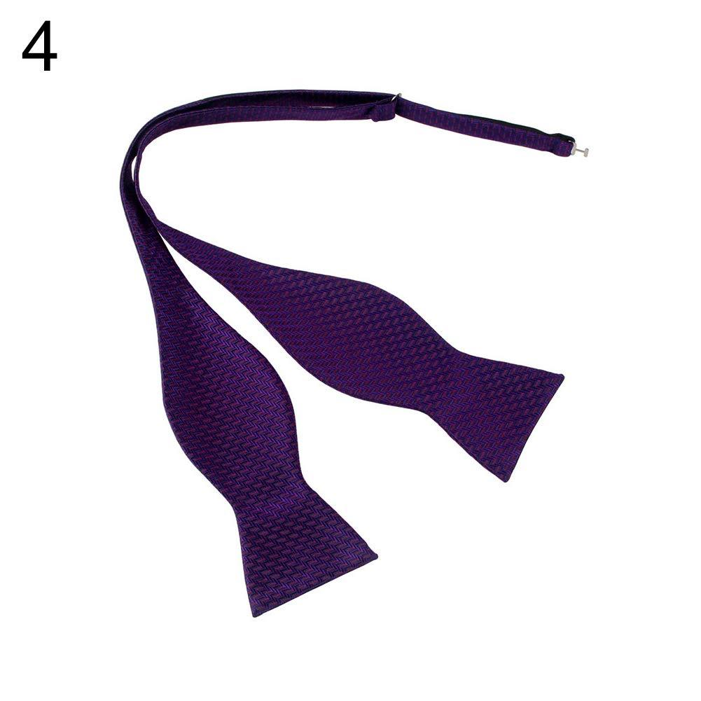 yanbirdfx Men Adjustable Self Bow Ties Necktie Neckwear Business Wedding Party Supplies - 12 by yanbirdfx (Image #6)