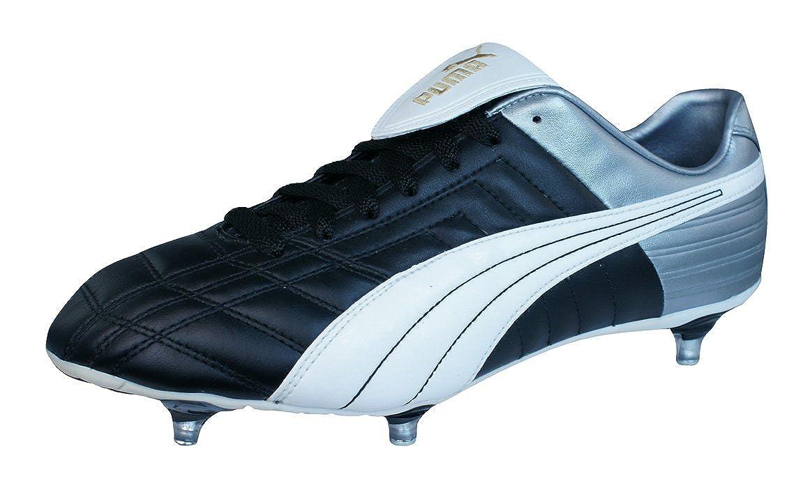 Puma Mestre SG Herren Leder fußballschuhe Black 46.5: Amazon
