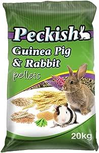 Peckish 00240 Guinea Pig and Rabbit Pellets, 20kg