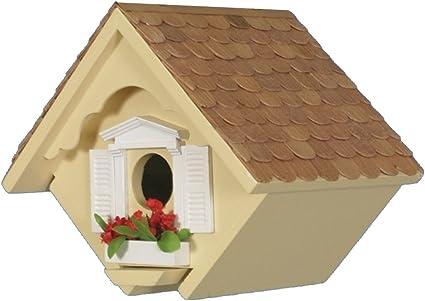 Amazon.com : Home Bazaar Hand-made Little Wren Yellow Bird house - Bird  Friendly - Home Decor : Bird Houses : Garden & Outdoor